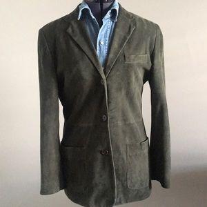 100% leather Ralph Lauren suede jacket